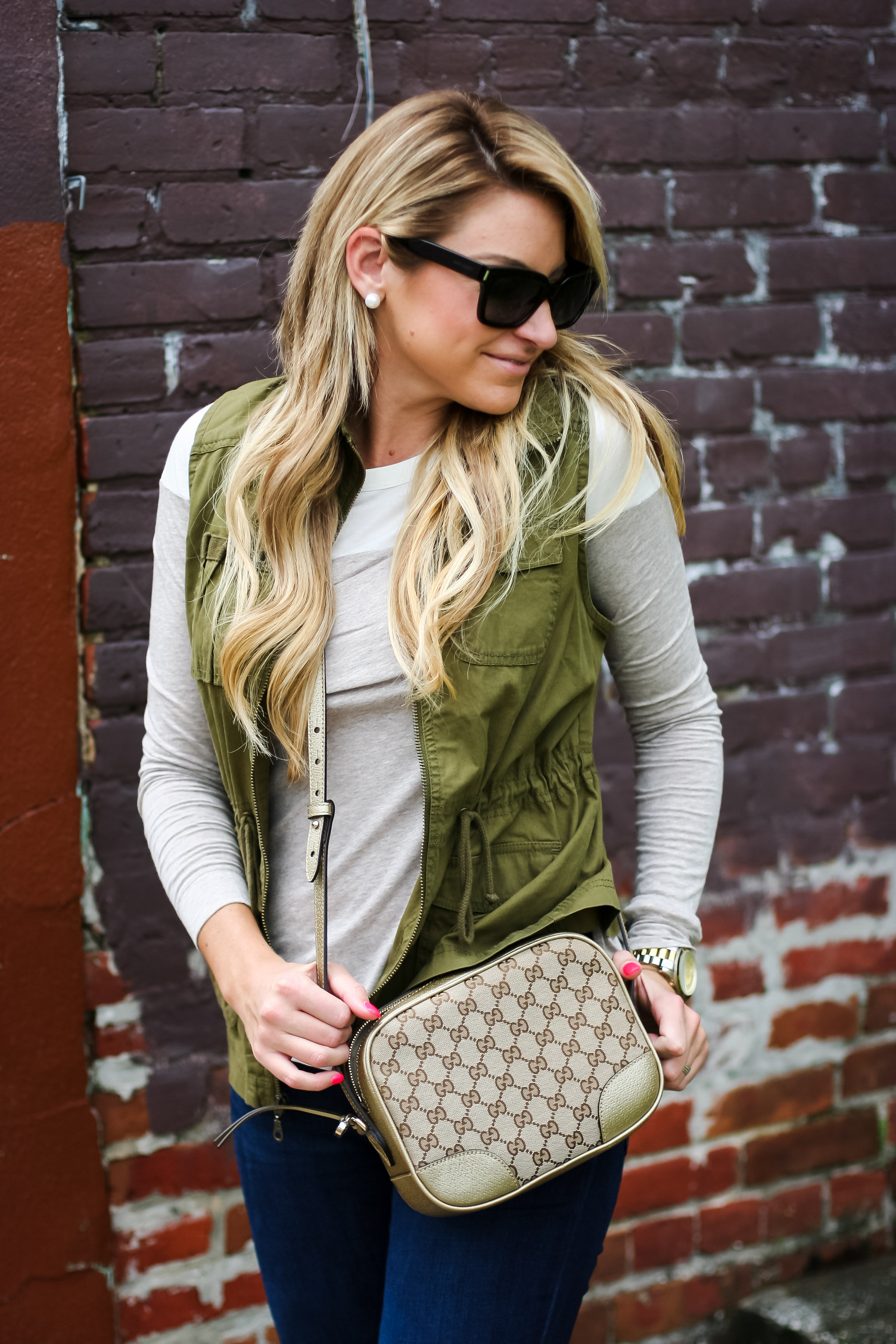 gucci bags at nordstrom. the best tunic for fall cargo anorak vest skinny jeans women nordstrom gucci bags at