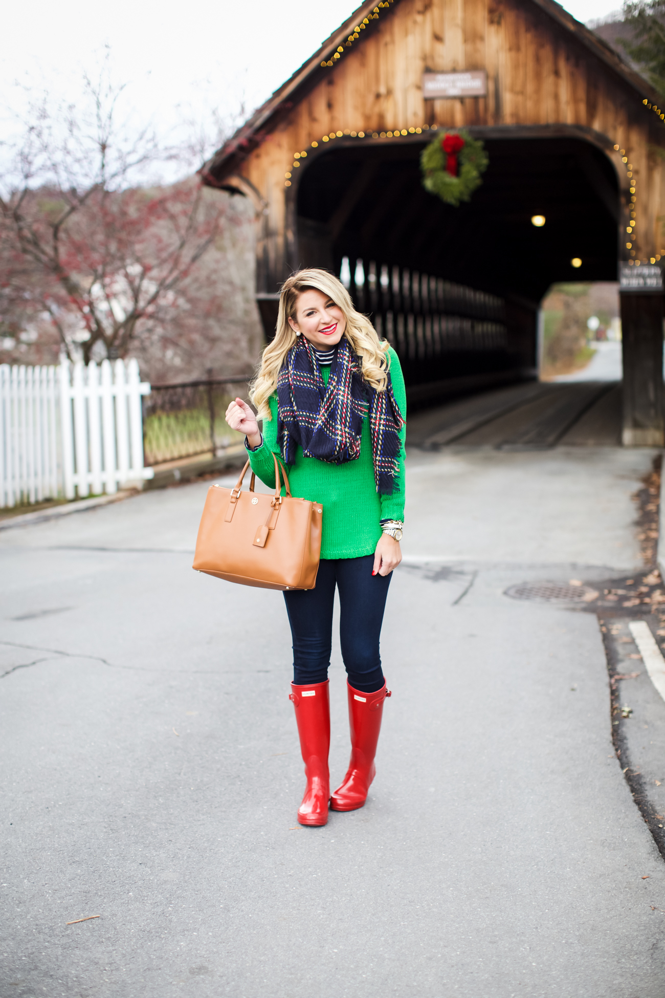 Outfit Christmas Covered Bridge Shop Dandy A Florida Based Style And Beauty Blog By Danielle