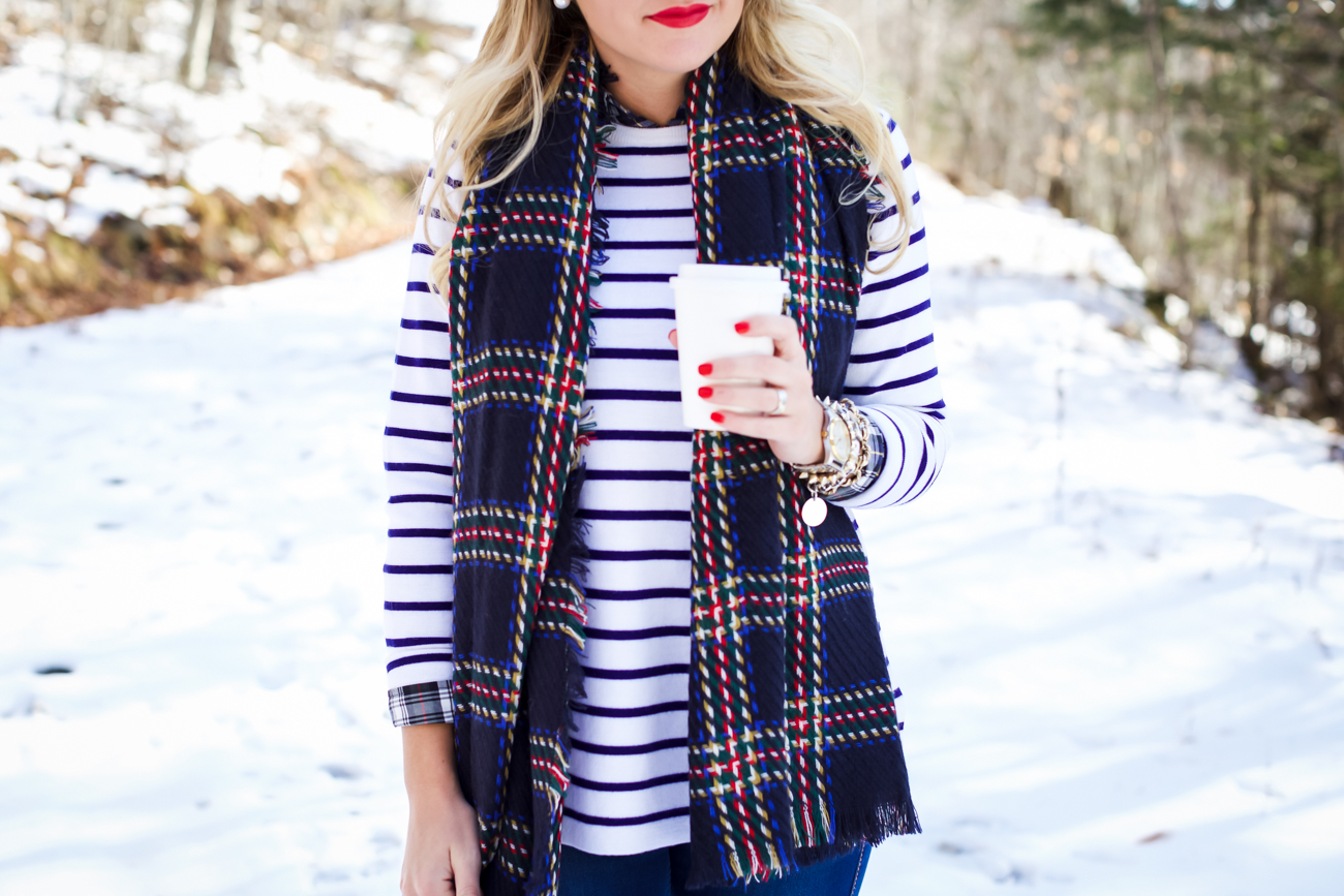 Outfit Snow Plaid Shop Dandy A Florida Based Style And Beauty Blog By Danielle