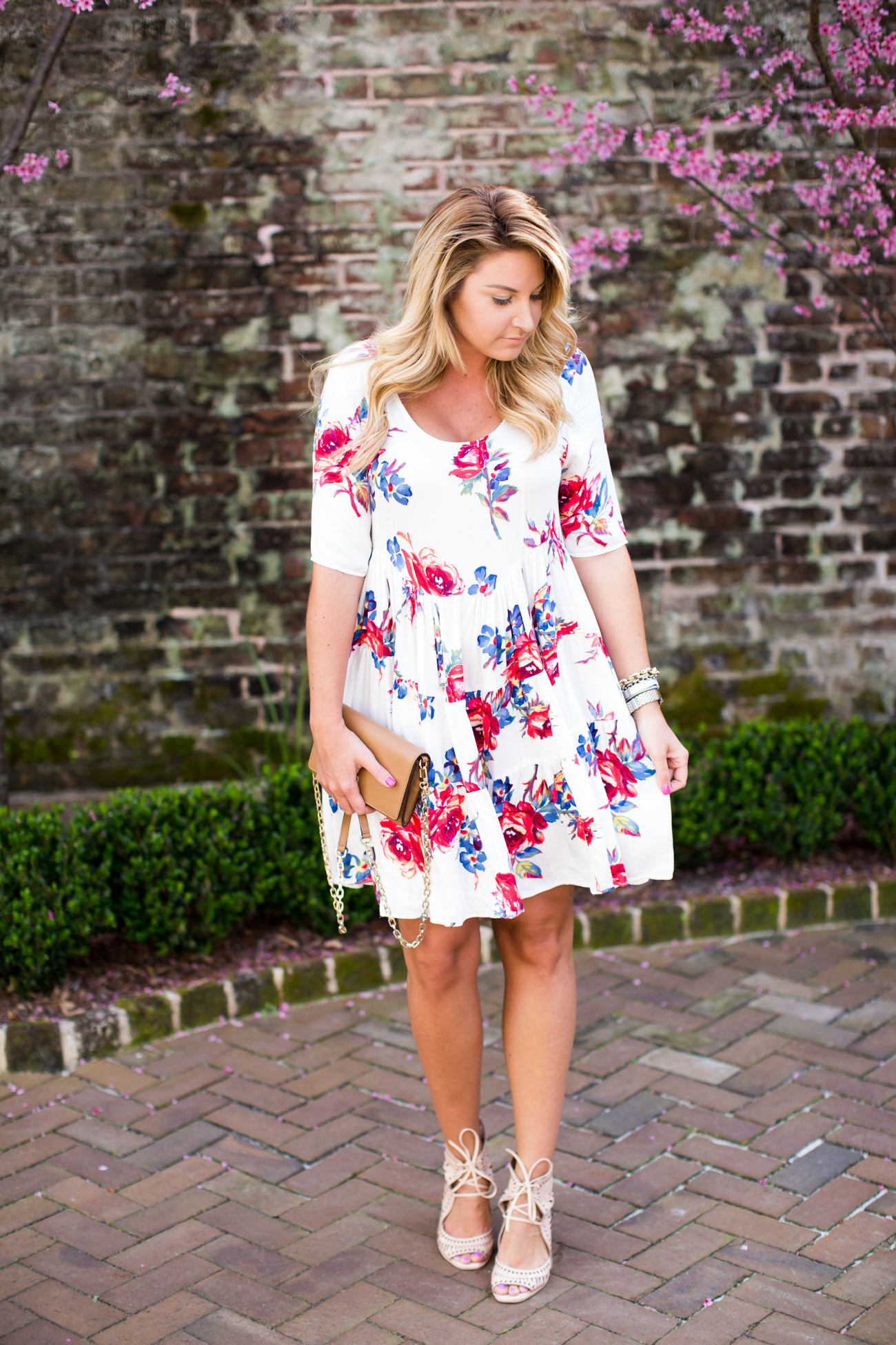 Outfit Spring Floral Dress Shop Dandy A Florida