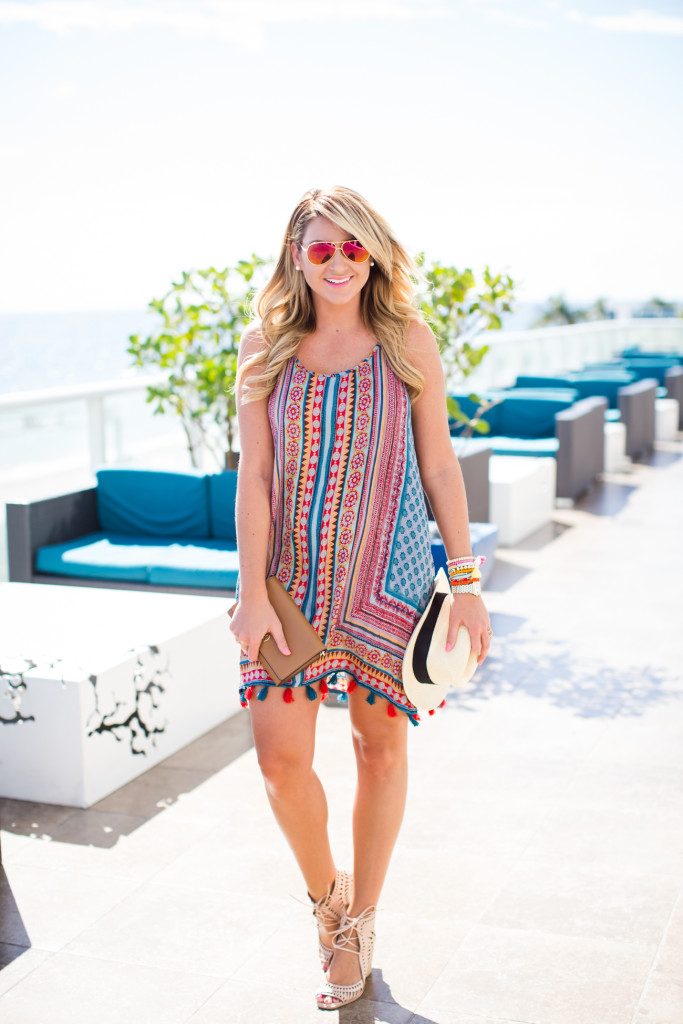 Outfit Spring Break Tassel Dress Shop Dandy A