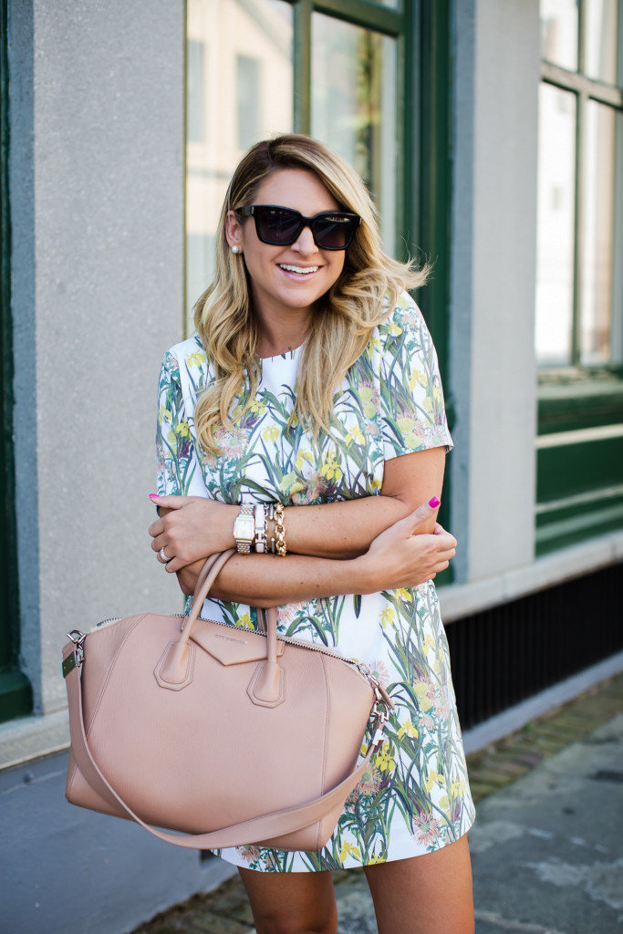 Outfit The Perfect Floral Spring Shift Dress Shop