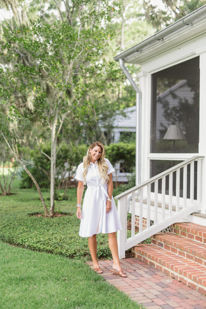 montage palmetto bluff nordstrom dvf shirtdress outfit