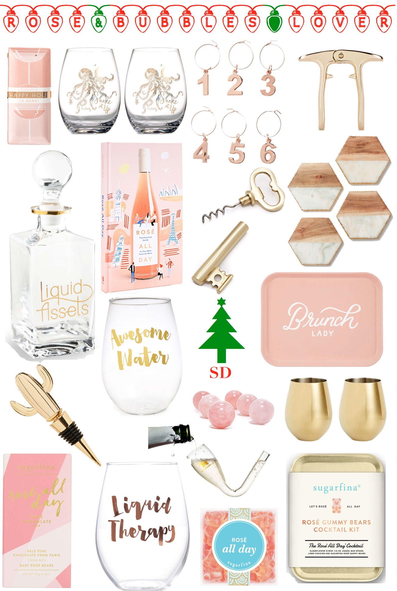 yes way rosé gift guide