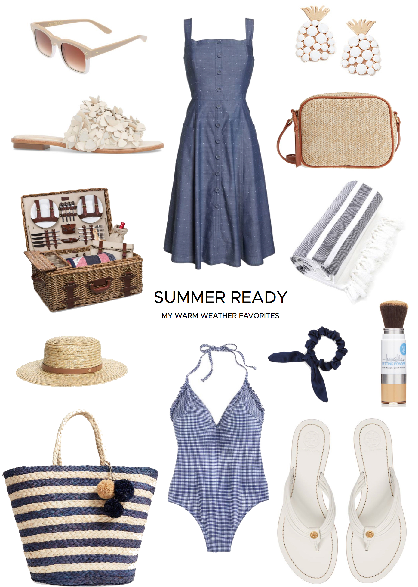 a38138851 ... the top look and you ve got the perfect warm weather outfit! Always be  sure to keep the second look in your bag to be ready for the sun all summer  long.