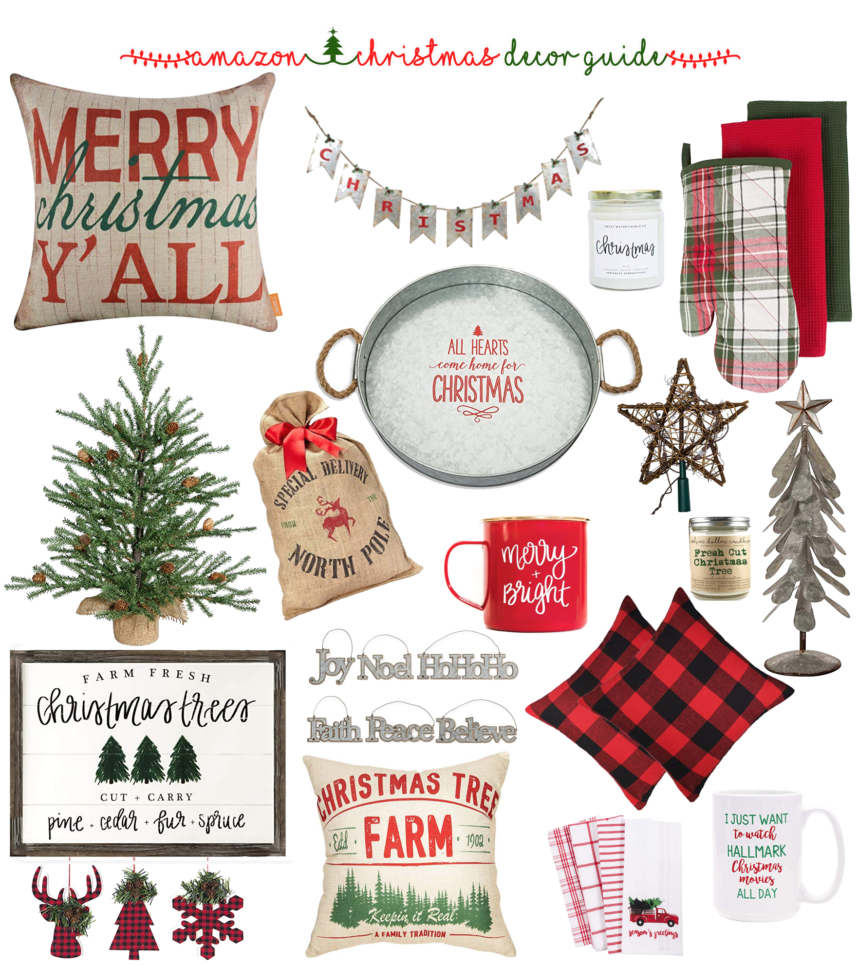 The Best Christmas Decor On Amazon Prime Shop Dandy A Florida Based Style And Beauty Blog By Danielle